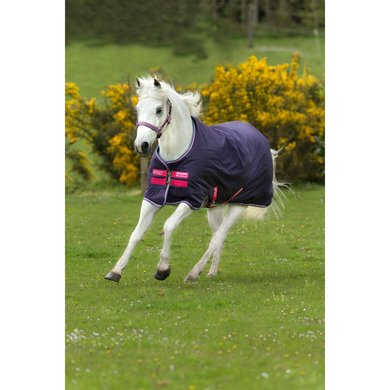 Amigo Turnout Medium Hero 900 200g Polyester Poney Grape/Pink/White/Powder Blue