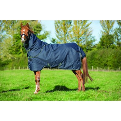 Amigo Bravo Pony Plus Medium Navy - Green
