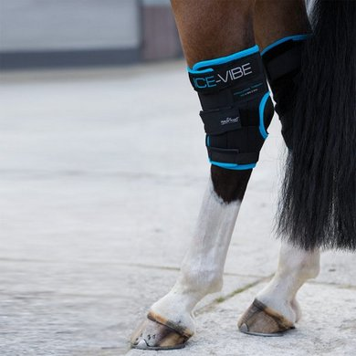 Horseware Ice-Vibe Hock Wrap Schwarz