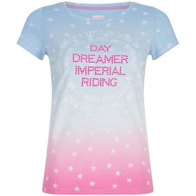 Imperial Riding T-shirt Silverstar Blue Breeze S