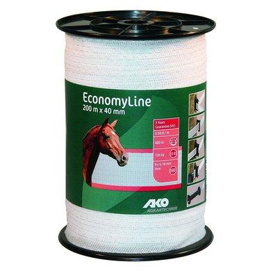 Ako Ruban de Clôture Economyline 200m Blanc