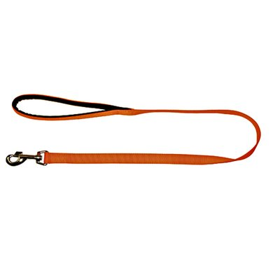 Kerbl MIAMI Leine, Orange 100cm/20mm