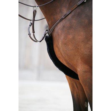 Kentucky Borsttuig Hoes Sheepskin Black 60cm