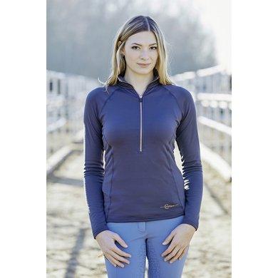 Covalliero Active Shirt Bianca Dames Blauw L