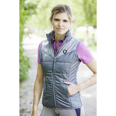 Covalliero Bodywarmer Chloe Dames Donkergrijs