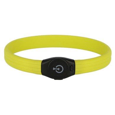 Maxi Safe Halsband Langhaar LED Groen 65x1,5cm