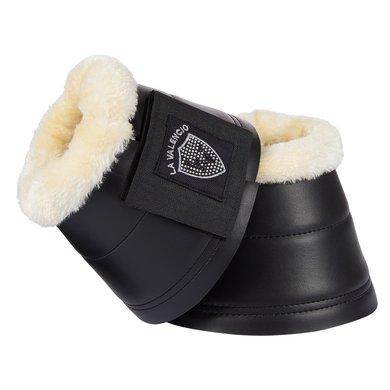La Valencio Springschoenen PVC Fur Zwart XL