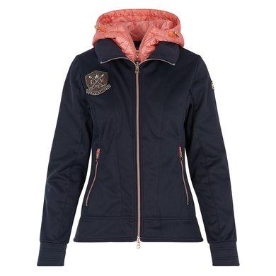 La Valencio Softshell Coat Kadance Navy XXL
