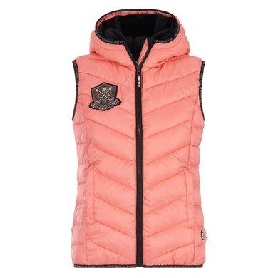 La Valencio Bodywarmer Kendra Jr Salmon Pink