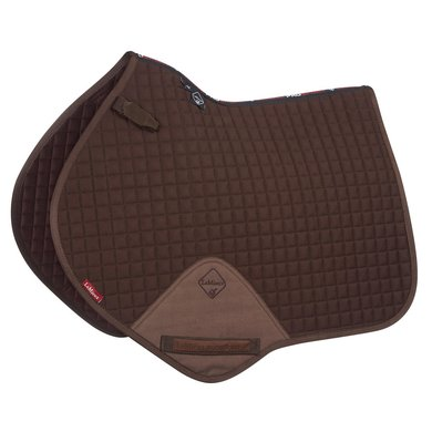 LeMieux Jumping Saddle Cloth ProSport Plain CC Sq Brown L