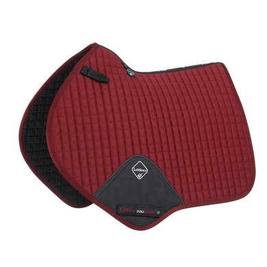 LeMieux Jumping Saddle Cloth ProSport Plain CC Sq Burgundy L