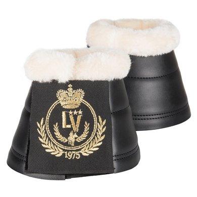 La Valencio Springschoenen Neo Fur Zwart