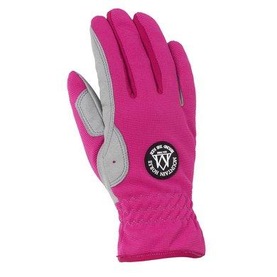 Mountain Horse Happy Glove Junior Flashy Pink