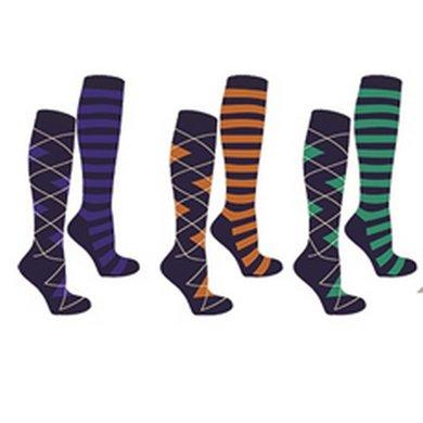 Entdecken Sie die neuesten Trends gehobene Qualität bester Großhändler Mark Todd Socken Damen Schwarz/Rot 6St.