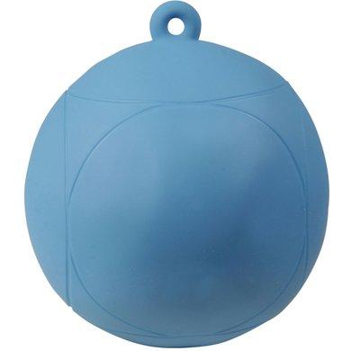 Pfiff Paardenspeelbal Opblasbaar Blauw klein