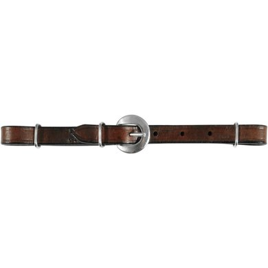 Pfiff Curb Strap Leather Brown