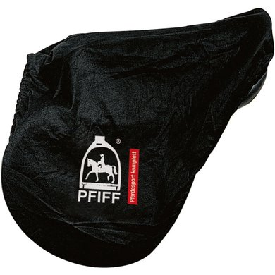 Pfiff Cotton Saddle Cover Black