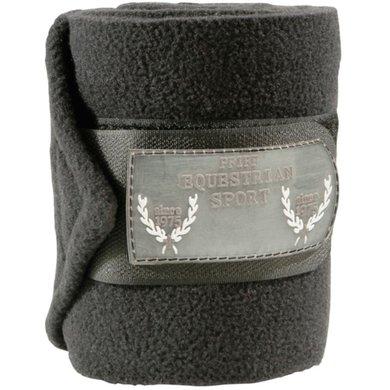 Pfiff Fleece Bandages Polo Black
