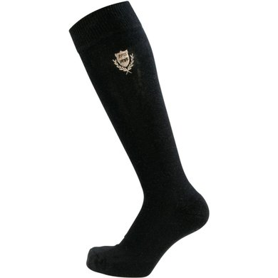 Pfiff Checked Riding Socks Black