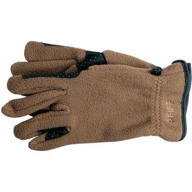 Pfiff Fleece Gloves Brown