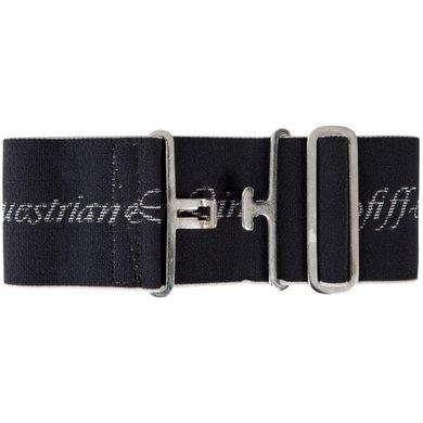 Pfiff Elastic Surcingle Logo Black