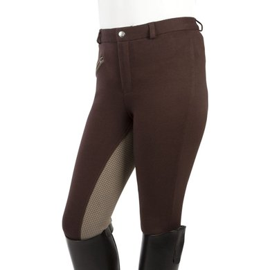Pfiff Childrens Riding Breeches Gina Brown/Grey
