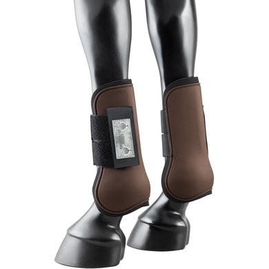 Pfiff Hard Shell Tendon Boots Brown Full