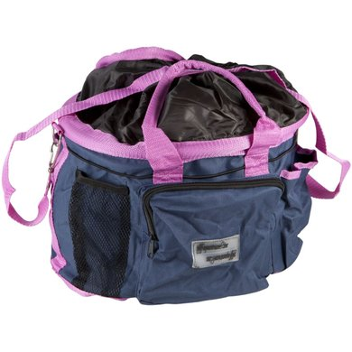 Pfiff Large Grooming Bag Blue Pink 0