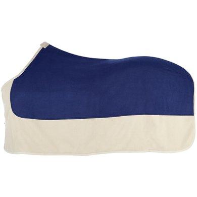 Pfiff Fleece Rug Blue/Beige