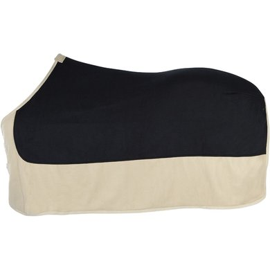 Pfiff Fleece Rug Black/Beige