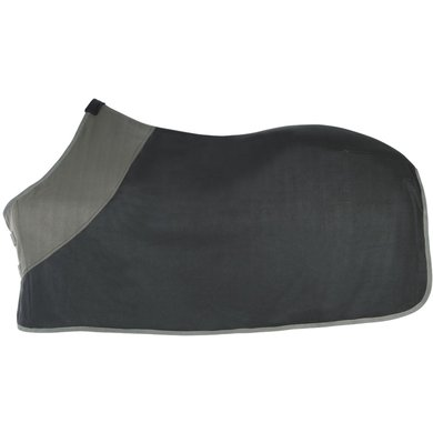 Pfiff Fleece Rug Black - Grey