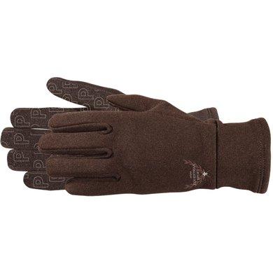Pfiff Winter Riding Gloves Brown