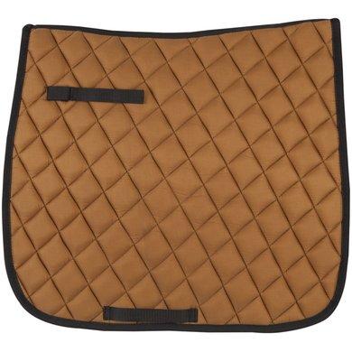 Pfiff Dressage Saddle Cloth Basic Line Lightbrown