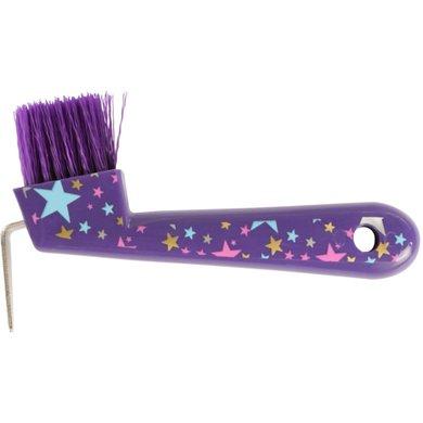 Pfiff Hoof Pick Magical Stars Purple