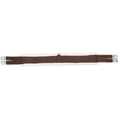 Pfiff Girth Faux Fur Brown/Beige