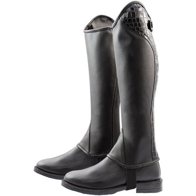 Pfiff Mini Chaps Croc Black