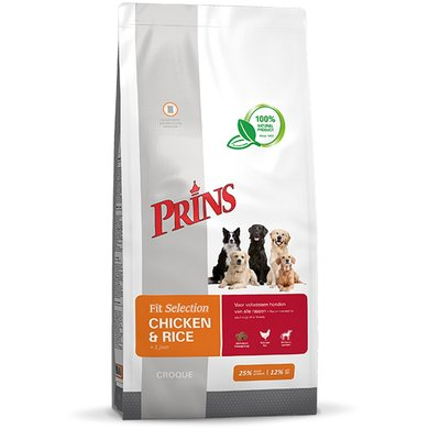 Prins Fit Selection Chicken & Rice 15kg
