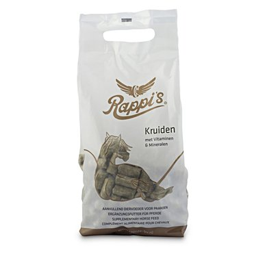 Rapide Pferdeleckerli Rappi's Kräuter 1kg