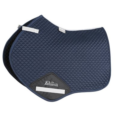 Performance by Shires Jumping Saddle Cloth   Navy Full