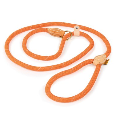 Digby & Fox Sliplijn Reflecterend Oranje One Size