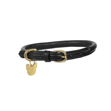 Digby & Fox by Shires Halsband Rolled Leder Black