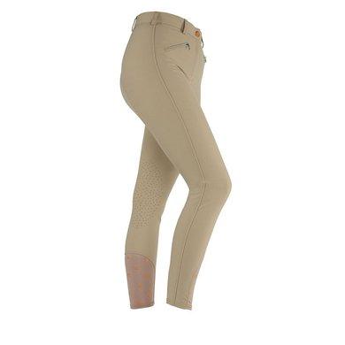 Aubrion Rijbroek Thompson Knee Patch Ladies Beige XS