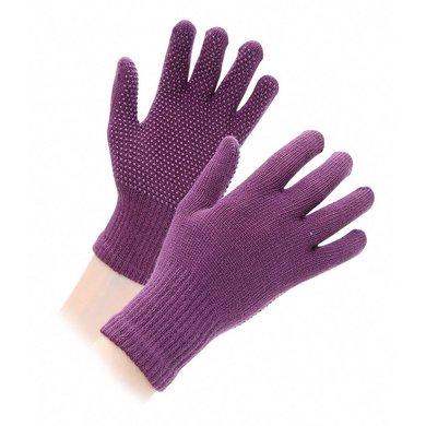 Shires Handschoenen Suregrip Volwassenen Purple