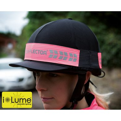 Equi-Flector Flashing Hat Band Pink