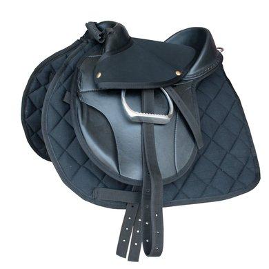 Rider Pro Kinderzadel Kiddy Compleet Zwart 12 inch