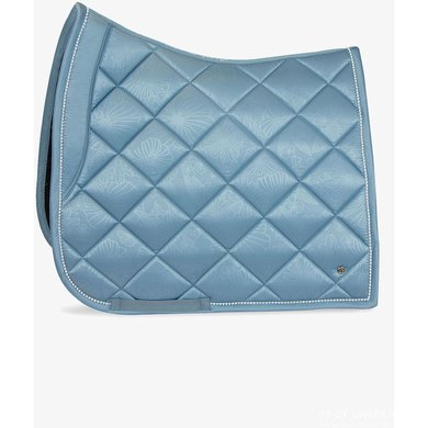 PS of Sweden Saddlepad Floret Dressage Aqua Full