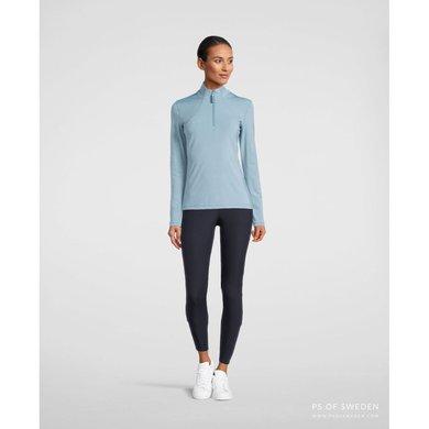PS of Sweden Sweater Alessandra with Zipper Aqua S