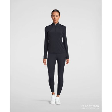 PS of Sweden Sweater Alessandra with Zipper Navy XS