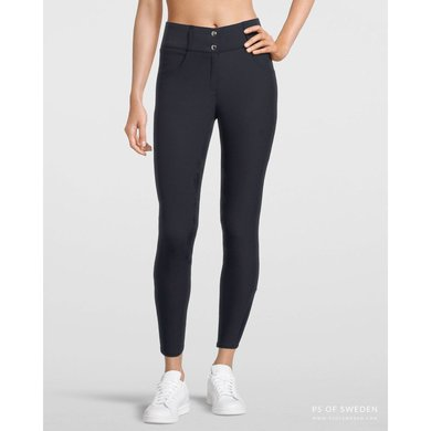 PS of Sweden Breeches Candice Silicon Seat Navy 32