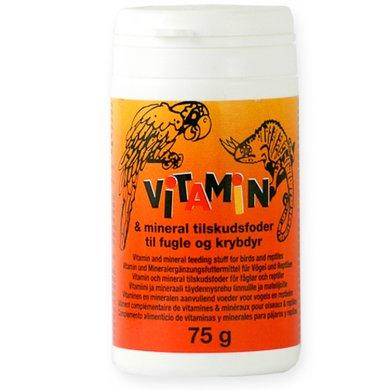 Diafarm Vitaminen & Mineralen - Vogel & Reptiel 75 gr